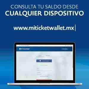 como consultar saldo en linea online internet my ticket wallet